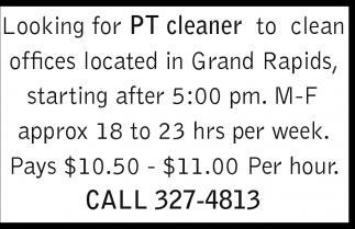PT Cleaner