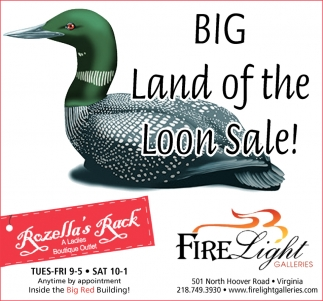 Big Land Of The Loon Sale!