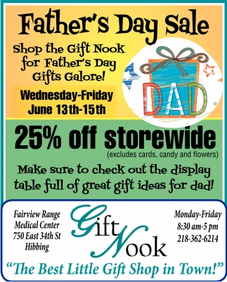 Father S Day Sale Gift Nook Hibbing Mn