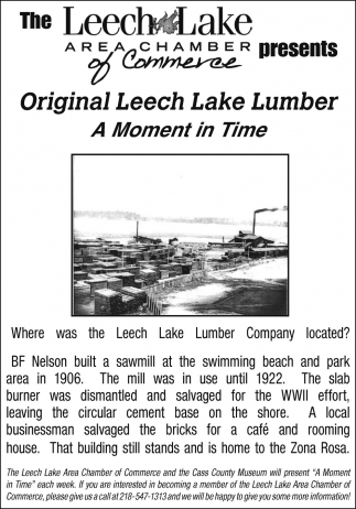 Original Leech Lake Lumber