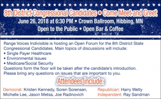 8th District Congressional Candidates