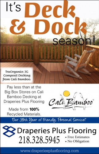 It's Deck & Dock Season!