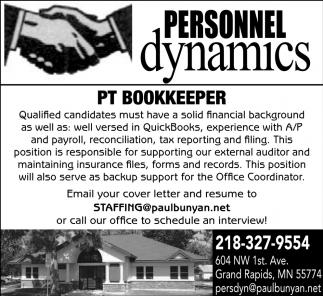 PT Bookkeeper