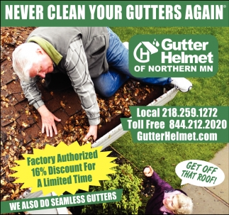 Never Clean Your Gutters Again
