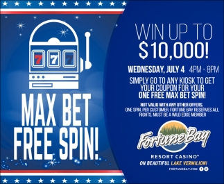 Max Bet Free Spin!
