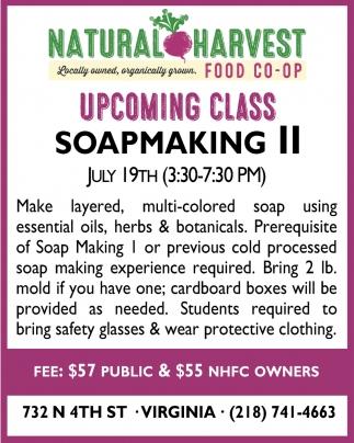 Soapmaking II