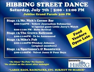 Hibbing Street Dance