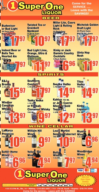 Come For The Service... Leave With The Savings!