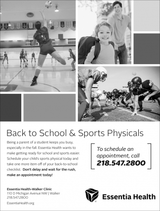 Back To School & Sports Physicals