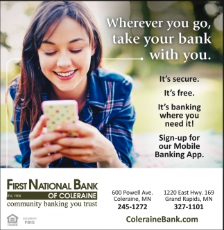Wherever You Go Take Your Bank With You
