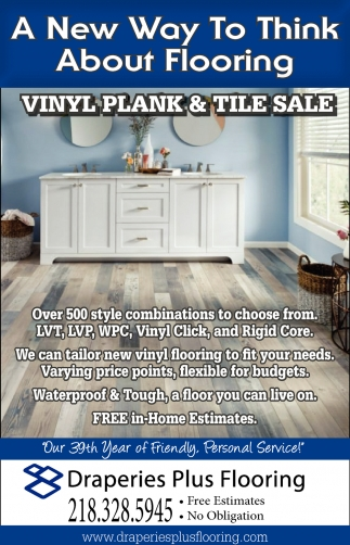 Vinyl Plank And Tile Sale