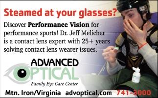 Performance Vision