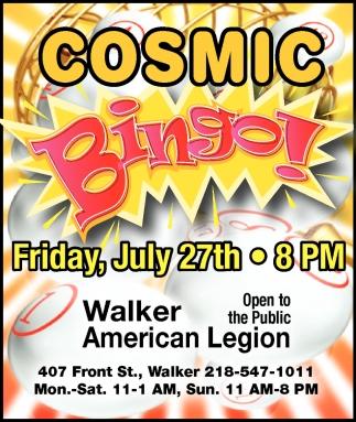 Cosmic Bingo!