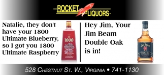 Hey Jim, Your Jim Beam Double Oak Is In!