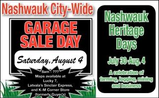 Garage Sale City Of Nashwauk Nashwauk Mn