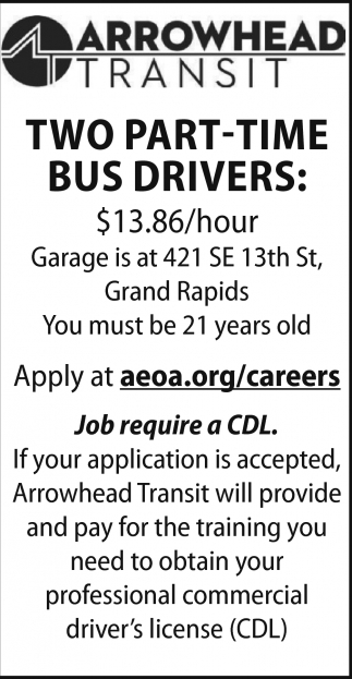 Two Part-Time Bus Drivers