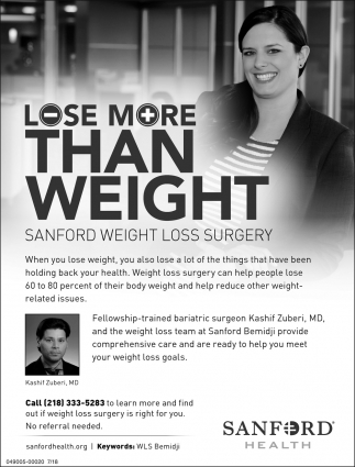 Lose More Than Weight