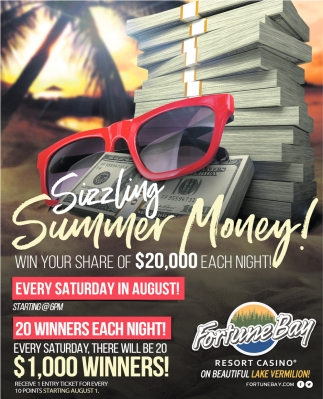 Win Your Share Of $20,000 Each Night!