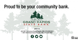 Proud To Be Your Community Bank