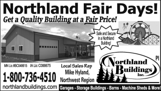 Northern Fair Days!