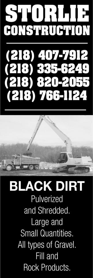 Black Dirt Pulverized