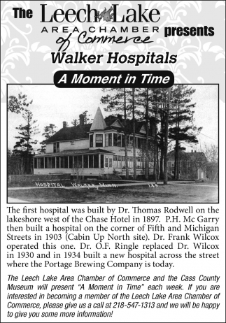 Walker Hospitals A Moment In Time