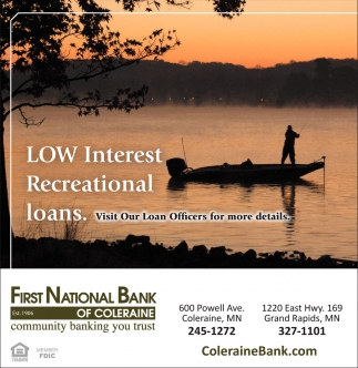 Low Interest Recreational Loans