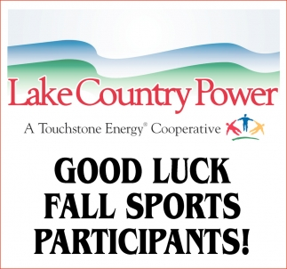 Good Luck Lake Country Power Grand Rapids Mn