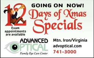 12 Days Of Christmas Specials
