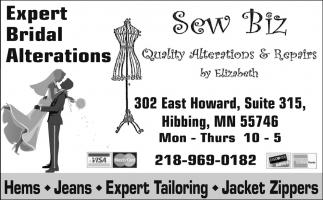 Expert Bridal Alterations
