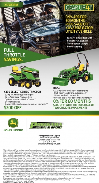 Full Throttle Savings.