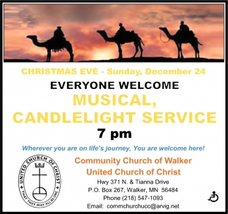 Musical, Candlelight Service