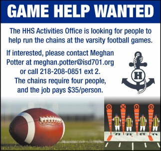 Game Help Wanted