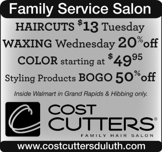 Family Service Salon Cost Cutters Family Hair Salon