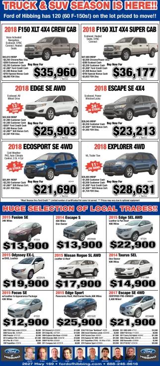 Truck & SUV Season