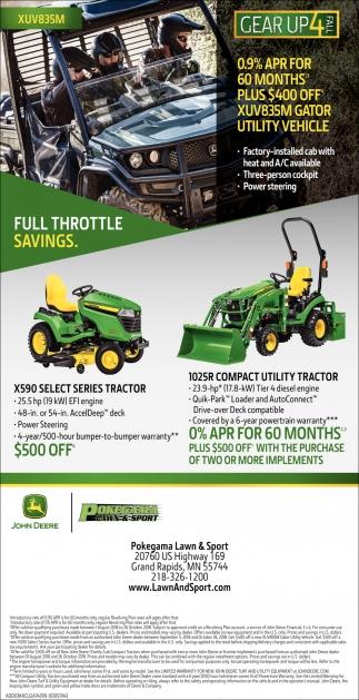Full Throttle Savings