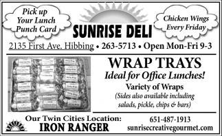 Wrap Trays