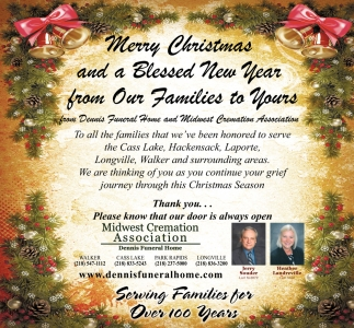 Merry Christmas And A Blessed New Year From Our Families To Yours ...
