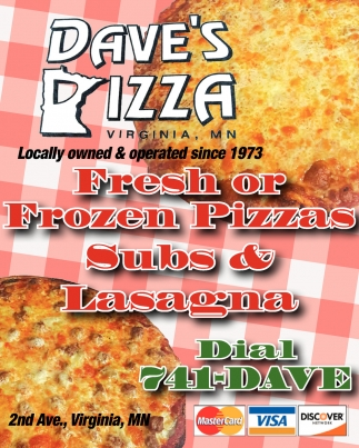 Fresh Or Frozen Pizzas, Subs And Lasagna