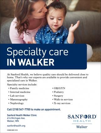 Specialty Care In Walker