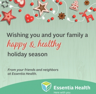 Wishing You And Your Family A Happy And Health Holiday Season