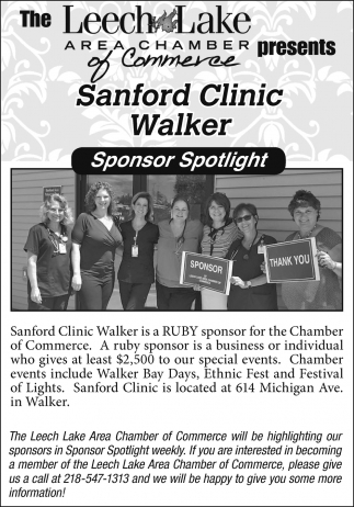 Sanford Clinic Walker