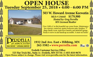 Hibbing Open House