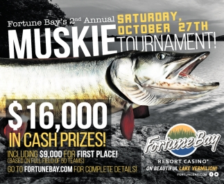 2nd Annual Muskie Tournament