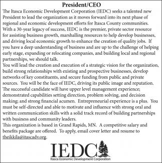 President/CEO