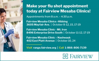 Make Your Flu Shot Appointment