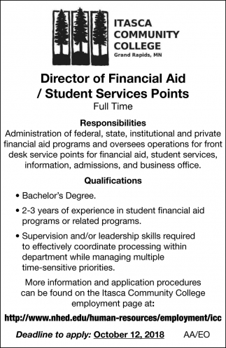 Director Of Financial Aid