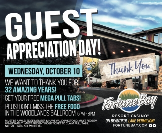 Guest Appreciation Day!