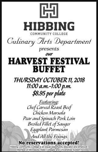 Harvest Festival Buffet