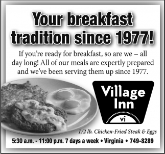 Your Breakfast Tradition